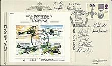 Twelve 3 Sqn veterans 21 Sep 92 BFPS 2337-8th Anniv. of No.3 Squadron.Flown