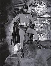 Adam West Batman 8x10 Signed Photo. Good condition
