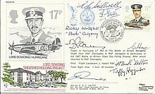 Lord Dowding Sheltered Housing Project multi signed cover. Including Taffy