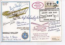 Six Great War Pilots. Extremely rare Collectors item.  RAF Museum Bristol B