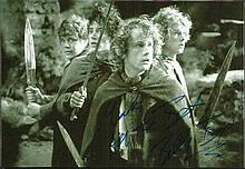 Billy Boyd signed 7x 5 b/w photo from Lord of the