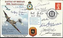 Sqn Ldr Kenwyn Sutton DFC RARE, Grp Capt R Haine,