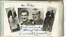 Harry Morris & Jack Cowley signed super 6 x 4 b/w