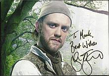 Sam Troughton signed 8 x 6 Robin Hood colour