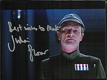 Julian Glover signed colour 7 x 5 Star Wars photo.