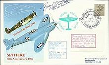 Air Cdre E Donaldson CO 151 Sqn BOB signed 1986