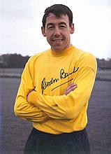 Gordon Banks signed Awesome high quality colour