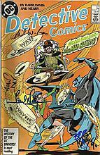Bob Kane, Alan Davis signed DC Detective Comic
