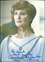 Caroline Blakinston as Mon Mothma in Star wars