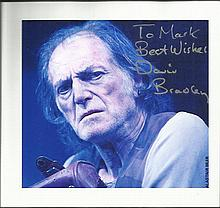 David Bradley signed Harry Potter 6 x 6 colour