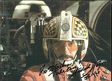 Garrick Hagon signed 7 x 5 Star Wars colour photo.