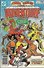 Paul Levitz August 1980 DC Adventure comics issue,