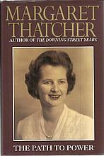 Margaret Thatcher. Rare hardback edition of The