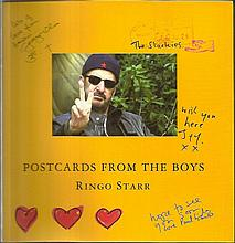 Ringo Starr the legendary Beatles drummer, signed
