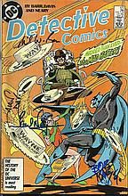 Bob Kane signed DC Detective comic Wagner Grant