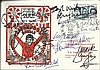 Liverpool FC multi-signed 1986 Liverpool Double