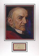 William Gladstone 28cm x 40cm triple mounted