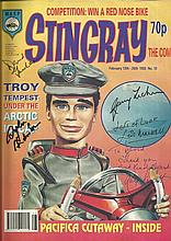 Stingray comic multi-signed, circa early 1990's