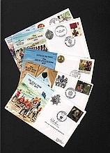 Army Communications VIP signed RAF Museum Cover Collection. 6 covers from t