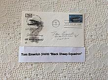 Tom Emerich Signed FDC Golden Anniversary of the US Air Mail Service 15 May