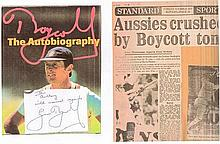 Geoffrey Boycott OBE Inscribed 1st Edition (1987) Autobiography of the grea