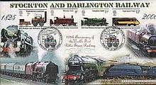 Stockton and Arlington Railway 2000 cover   Good condition. All signed item
