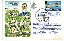 Albert Speer, Karl Donitz signed RAF cover. Albert