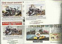 Nene Valley Railway covers nine assorted covers