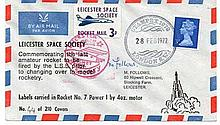 Leicester Space Society signed M Follows. One of
