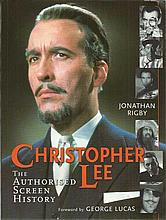 Christopher Lee signed The Authorised Screen