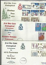 British Forces FDC collection 1973 Christmas RAF