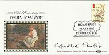Harold Pinter signed Benham 1990 Thomas Hardy