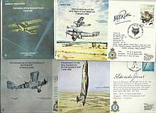 Bomber Command signed collection of seven VIP