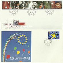 House of Commons/Lords CDS FDCS 1992 Euro Single