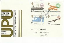 GB FDCs over 60 from 1974- 1991 big mix hand and