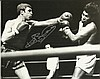 Boxing Signed collection two 10 x 8 colour photos