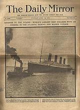 Titanic Memorabilia comprises reproduction Lunch