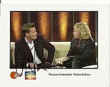 Dieter Bohlen signed 10 x 8 colour photo on German
