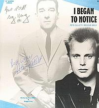 Reggie Kray and Pete Gillett signed record.