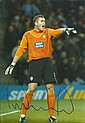 Paul Robinson goalkeeper signed 12 x 8 colour football photo