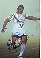 Kyle Eastmond signed 12 x 8 colour rugby action photo