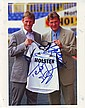 Teddy Sherringham & Glen Hoddle signed 10 x 8 colour Tottenham football photo
