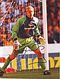 Peter Schmeichel signed 10 x 8 colour football magazine photo of the Man Utd goalkeeper