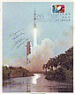 Fred Haise Apollo 12 LMP astronaut signed 10 x 8