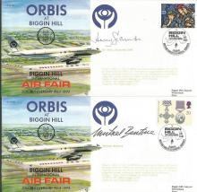 Orbis at Biggin Hill Celebrity signed cover collec