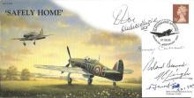 Battle of Britain veterans signed cover. 1999 Safe