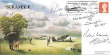 Battle of Britain veterans signed cover. 1999 Scra