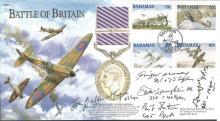 Battle of Britain Veterans signed cover. 2000 Batt