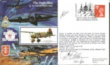 Battle of Britain veteran Donald Wilson signed cov