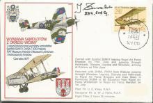 Battle of Britain veteran Jan Zurakowski signed co